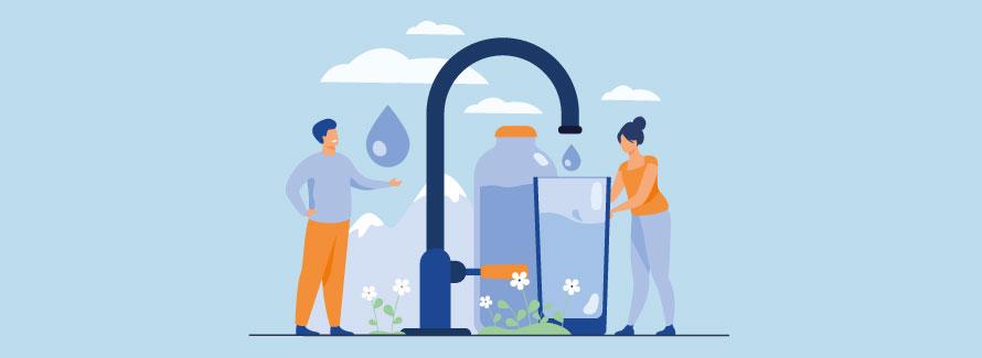 L'eau aujourd'hui