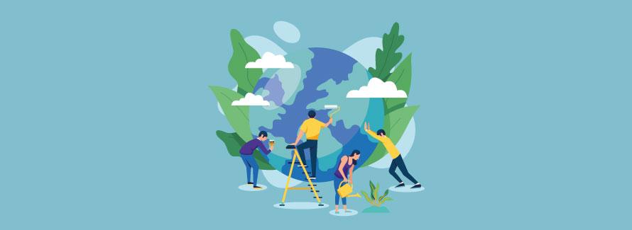 Un engagement valorisé : la sensibilisation écologique