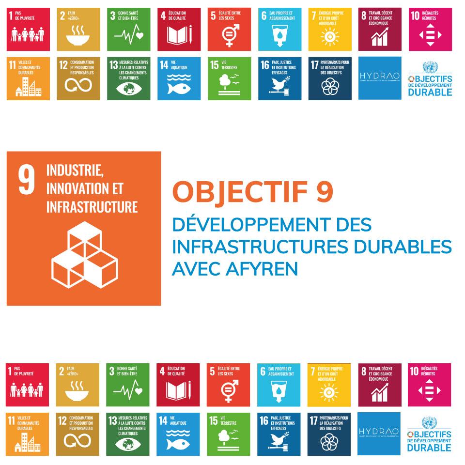 Objectif 9 – Développement des infrastructures durables avec Afyren