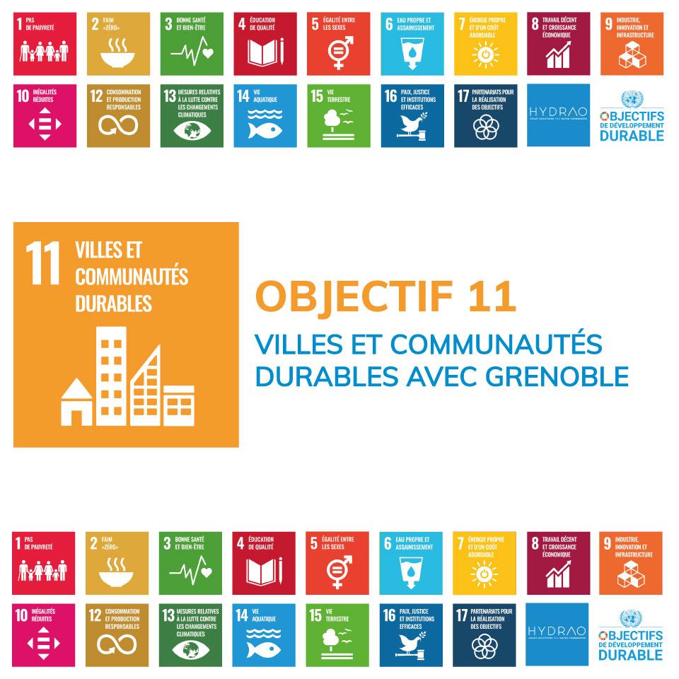 Objectif 11 – Villes et communautés durables avec Grenoble