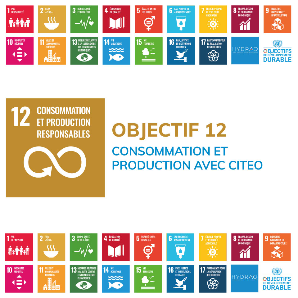 Objectif 12 – Consommation et production durable avec Citeo