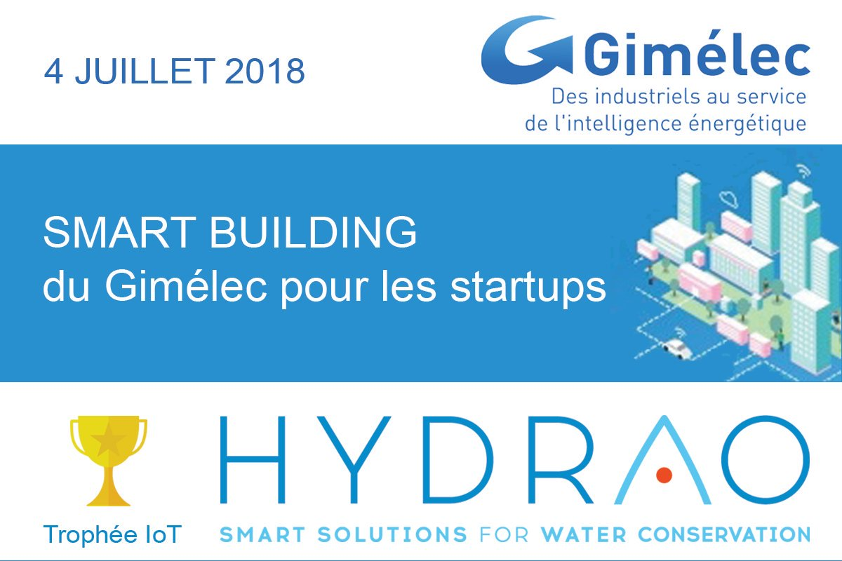 innovative startups gimelec HYDRAO