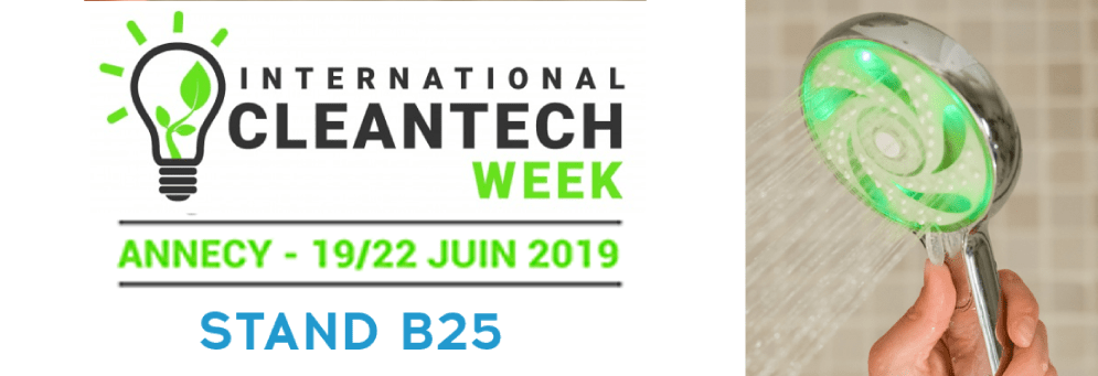 HYDRAO exibits at the Clean Tech Week 2019