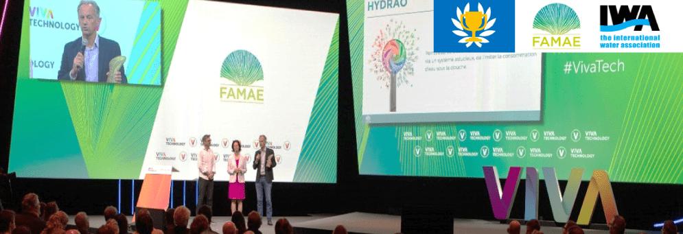 HYDRAO wins IWA Prize at FAMAE Water Challenge